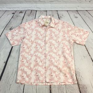 UEC Men's Hawaiin print shirt, Large Tasso Elba